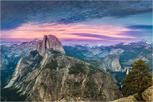 Top of the World, Half Dome from Glacier Point
