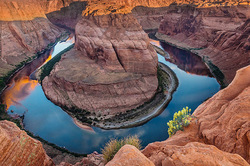 Spring Reflection, Horseshoe Bend, Arizona