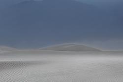 Sandstorm, Mesquite Flat Dunes, Death Valley