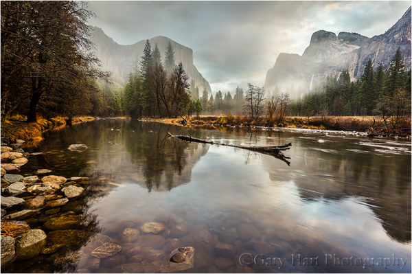 Clearing Storm Reflection, Valley View, Yosemite