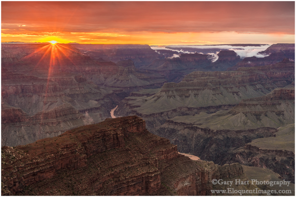 Grand Canyon Sunset, Hopi Point