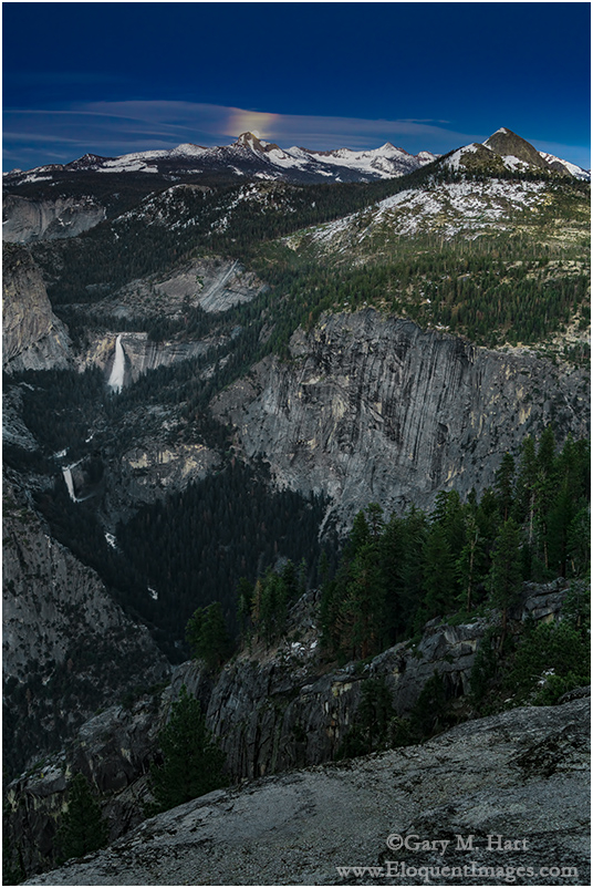 High Sierra Moonrise, Glacier Point, Yosemite