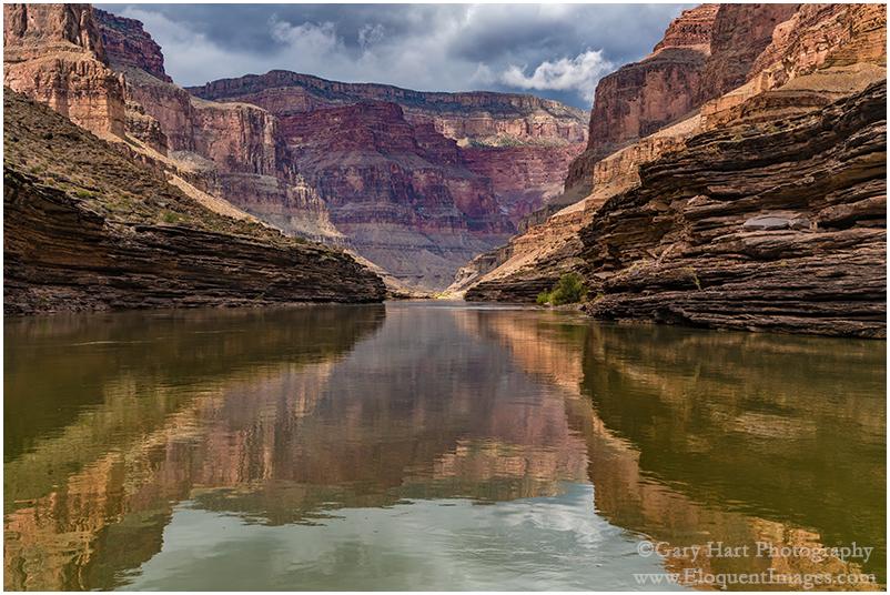 Grand Reflection, Colorado River, Grand Canyon