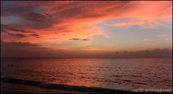 Sunset at Santamarta!!!