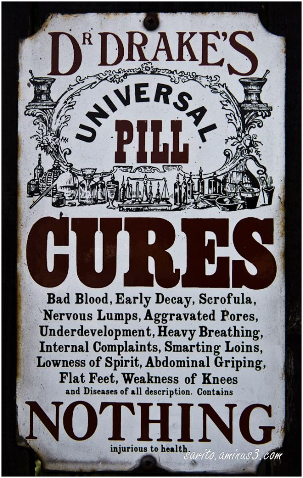 Cures Nothing...