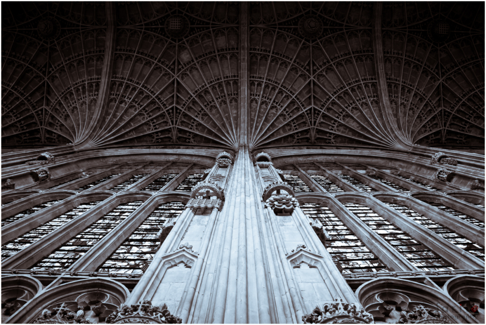 king's college chapel - World's largest fan vault