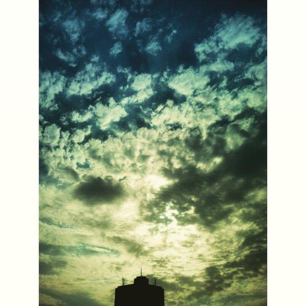 as Tehran's Sky was clean