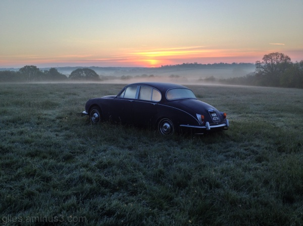 daimler v8 250 sunrise dawn devon