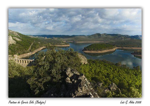 Pantano de García Sola (Badajoz)
