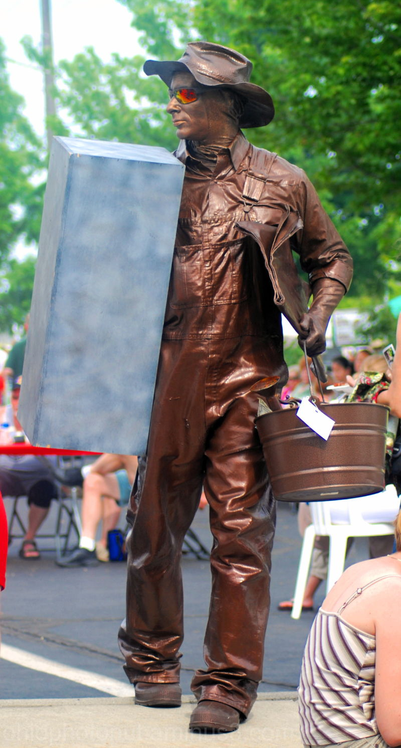 Local Tin Man, Columbus Arts Festival