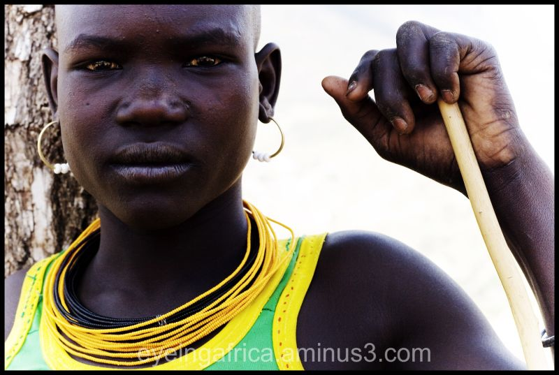 Young Karamojong Warrior