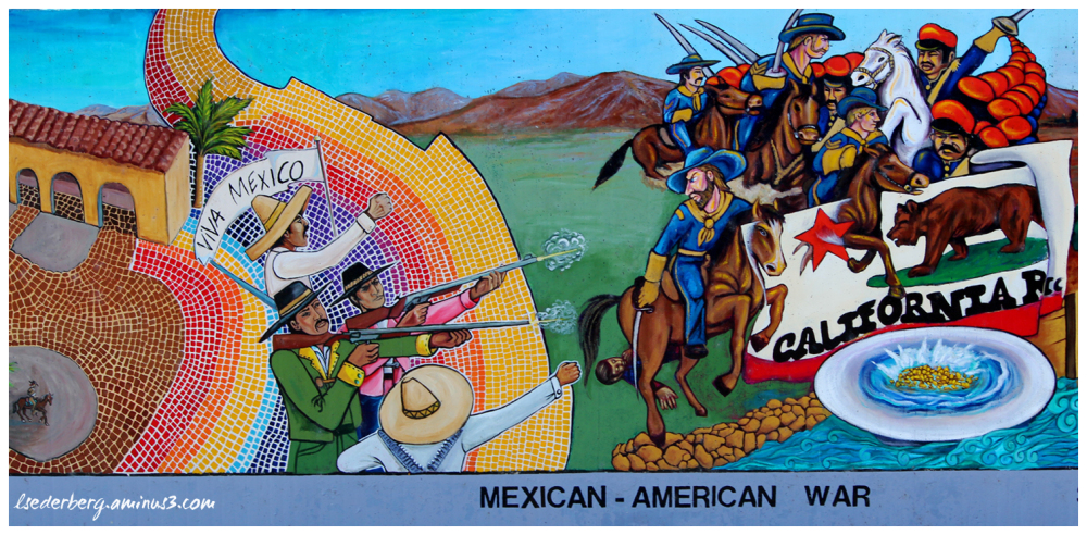 Mural: Mexican American war