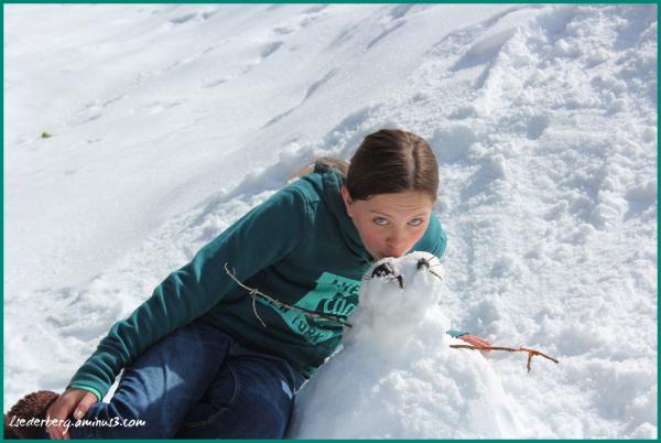 Madison snowman