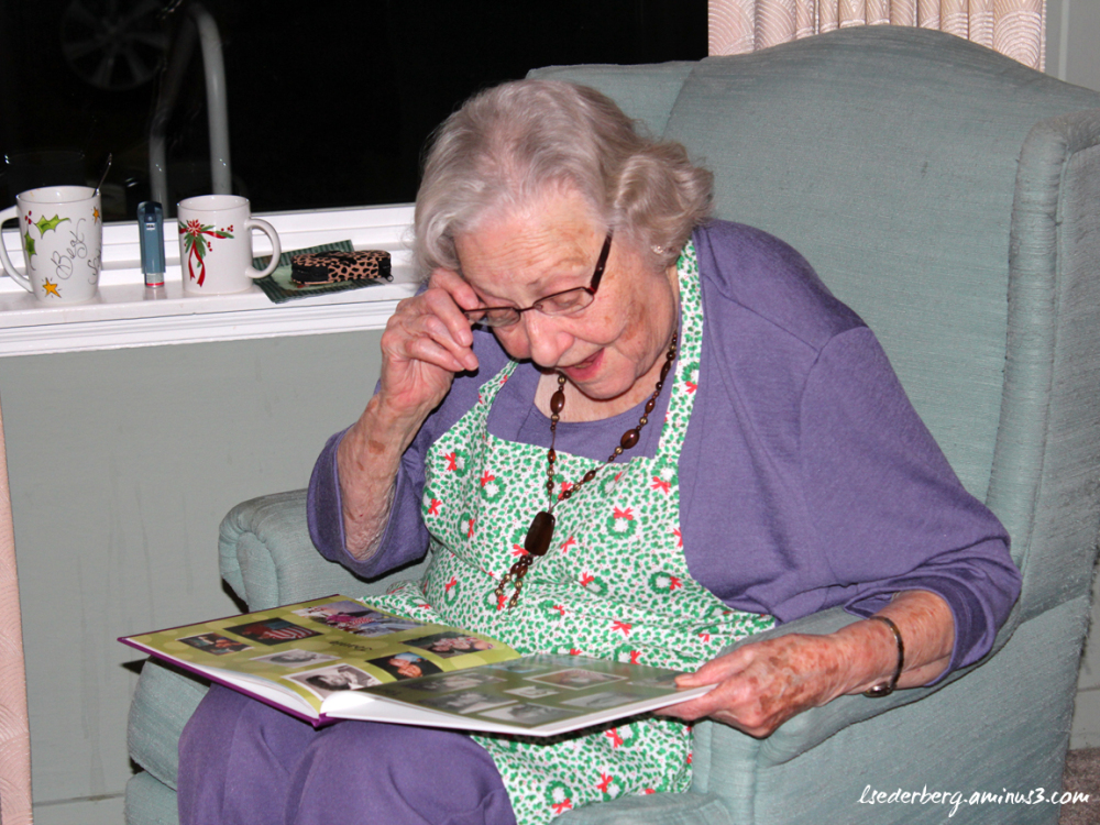 Betty loves her gift