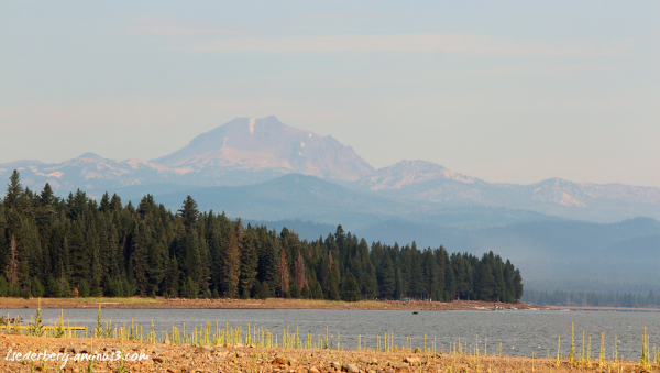 Summer haze on Mt. Lassen
