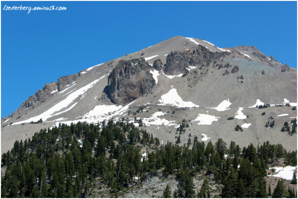 Peak of Mt. Lassen 1