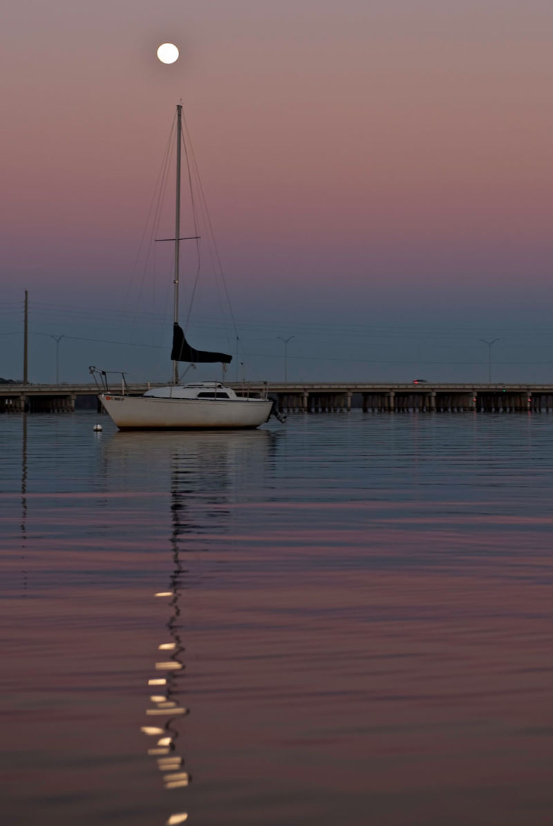 Sailboat Moonrise