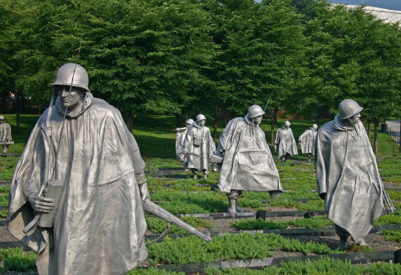 Korean War Memorial Washington Korean War Memorial