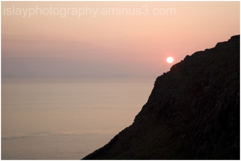 Sunset at Neist Point, Skye