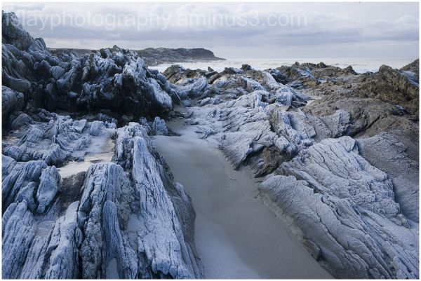 Frosted Rocks, Saligo Bay