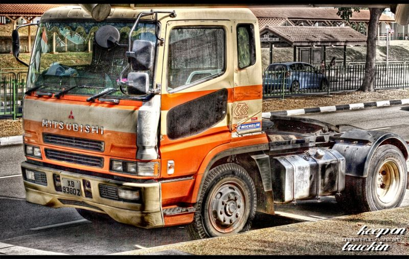 Cool looking truck put through HDR processing
