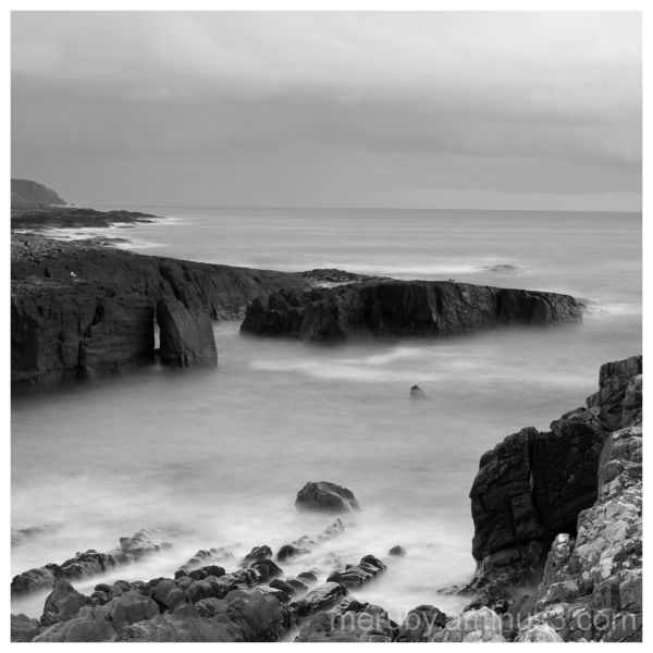 Machir Bay b&w