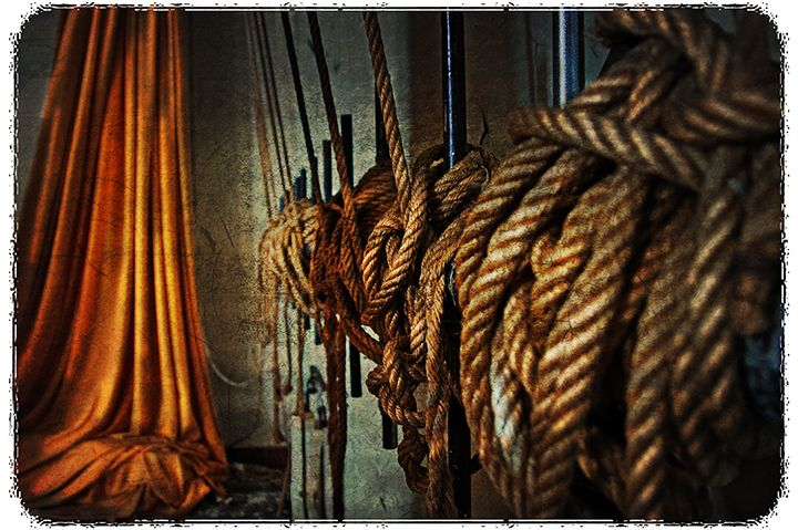 Hung Up Tied Down
