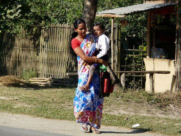 street portrait in Assam