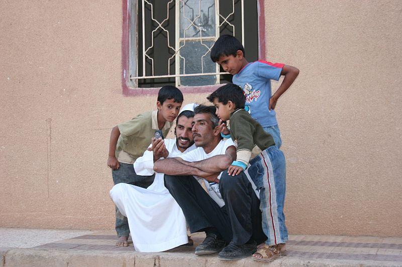 découverte du portable chez les bédouins de Jordan