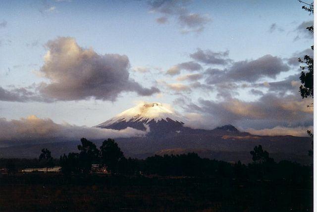 le volcan de Zumbahua en Equateur