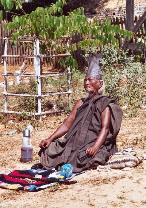 a shadu in Burma