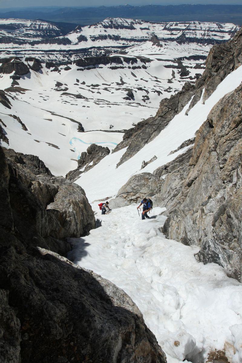 Jackson WY Middle Teton Summit