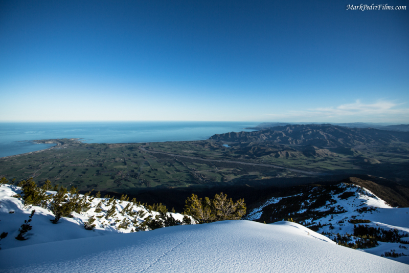 Sky, Ocean, Mountains, New Zealand
