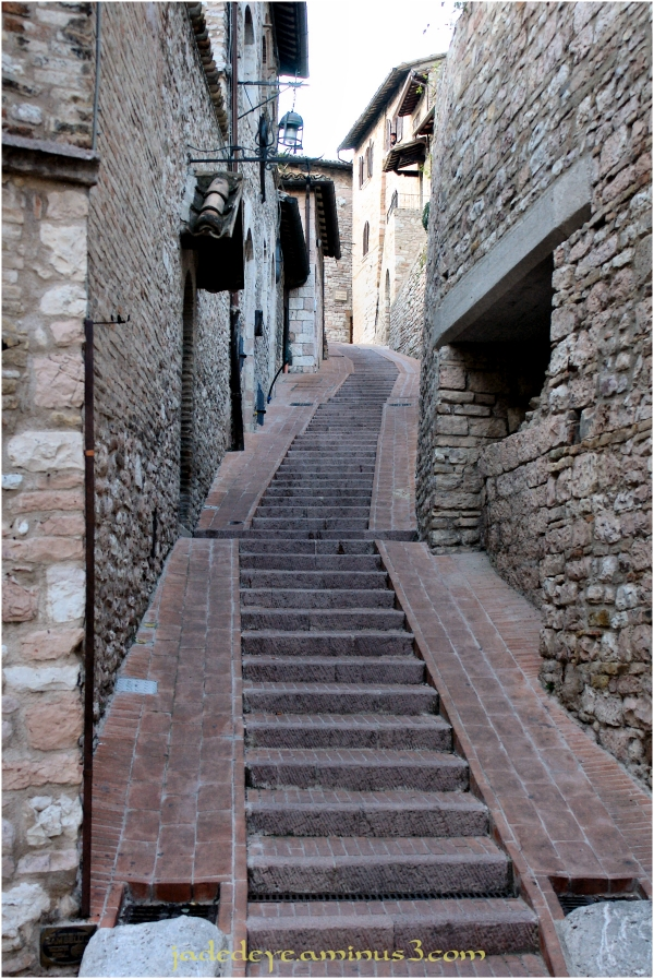 Stairway in Assisi