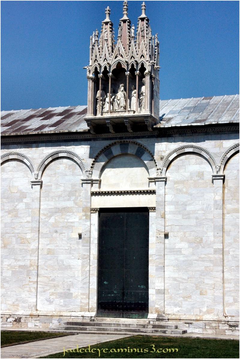 Doorway to Campo Santo - Pisa