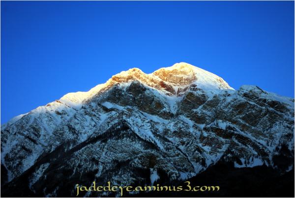 Pyramid Mountain Sunrise