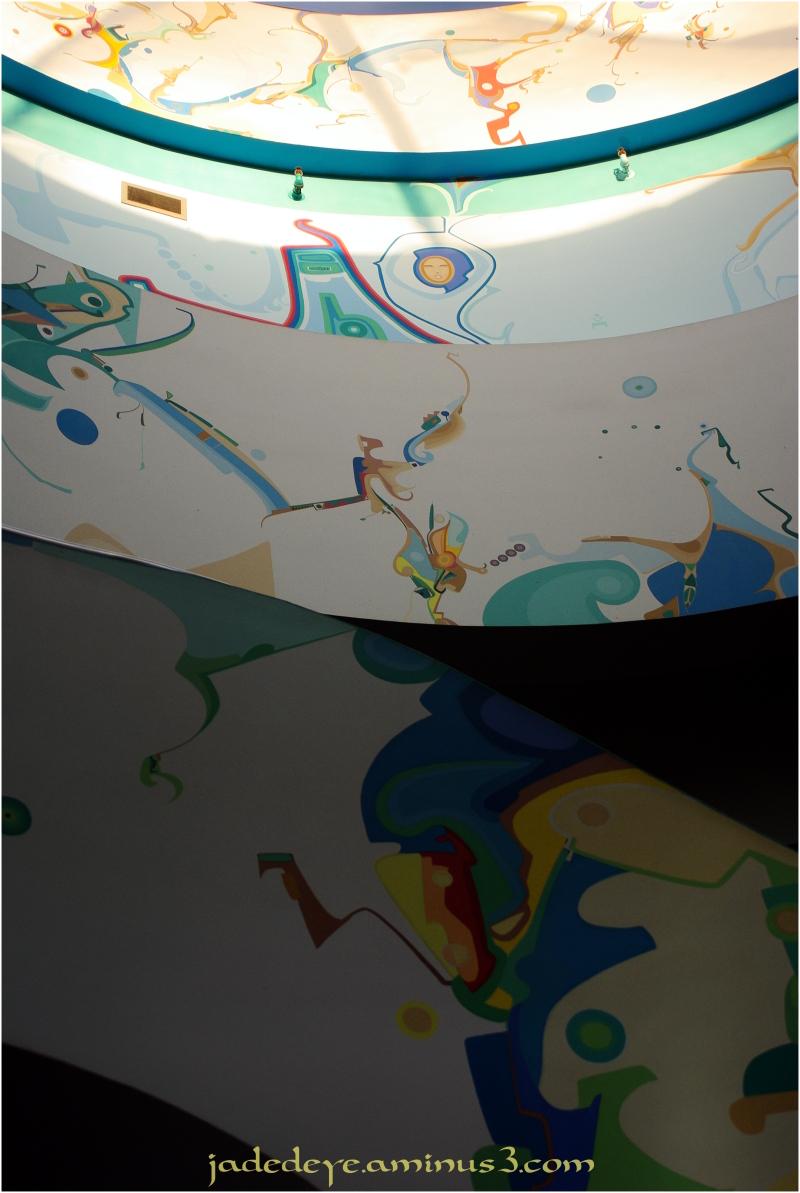 Alex Janvier Mural #1