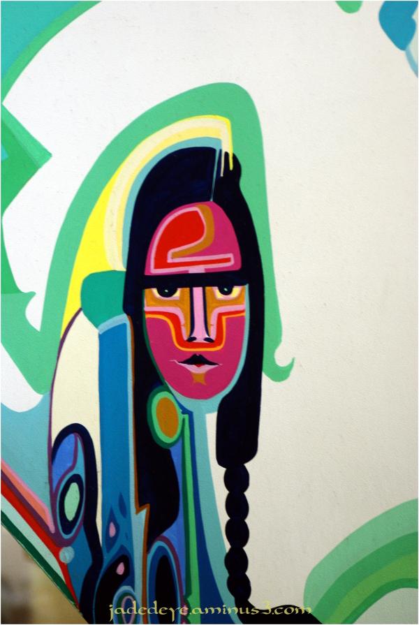 Alex Janvier Mural #5