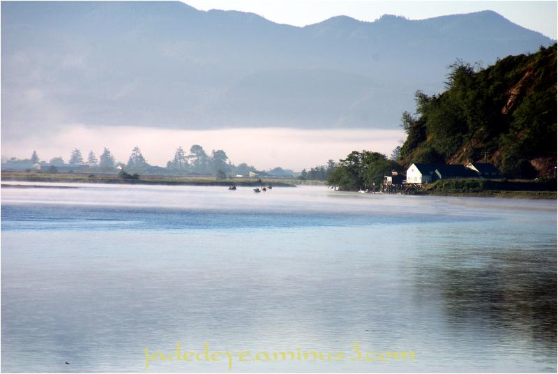 Dawn On Tillamook Bay #4
