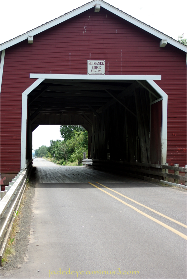 Shimanek Covered Bridge #2