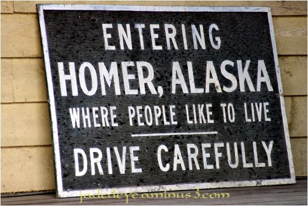 Entering Homer, Alaska