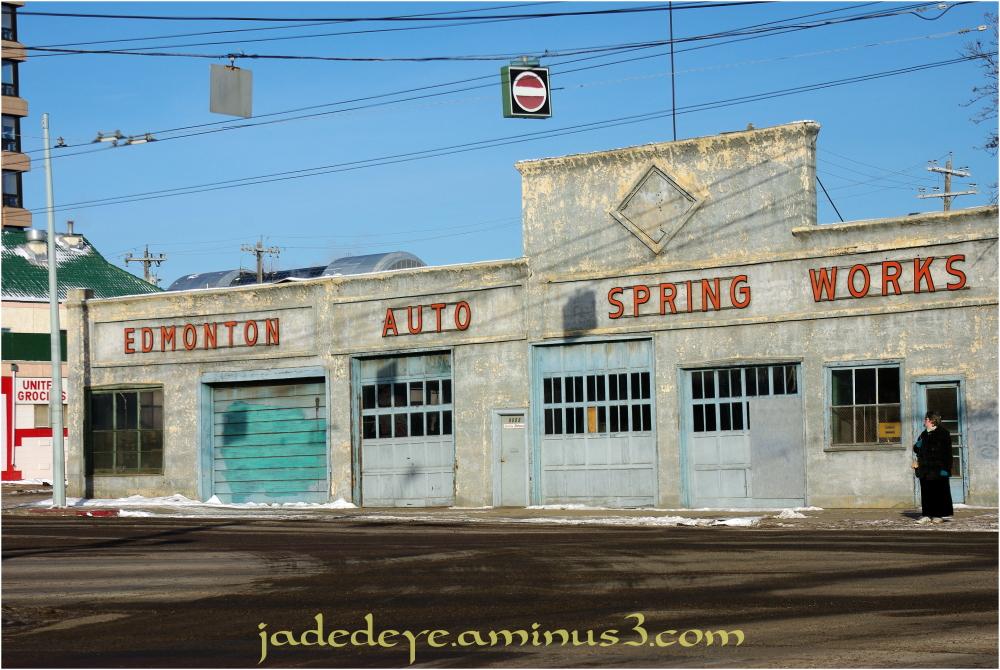 Edmonton Auto Spring Works Cityscape Urban Photos