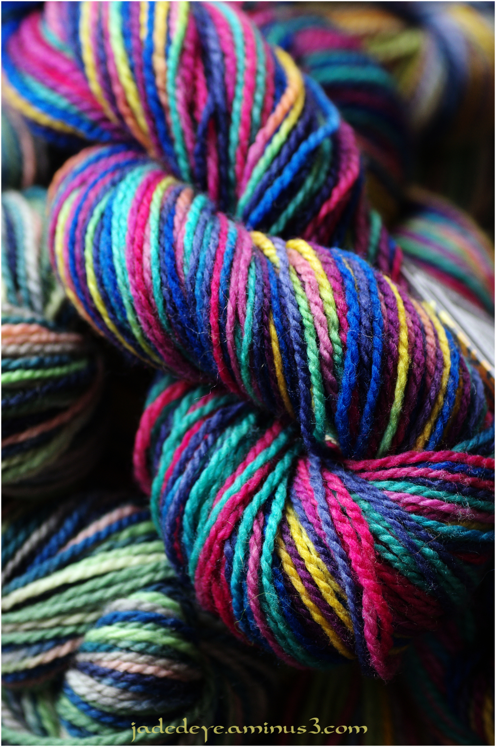 Multi-coloured Skeins