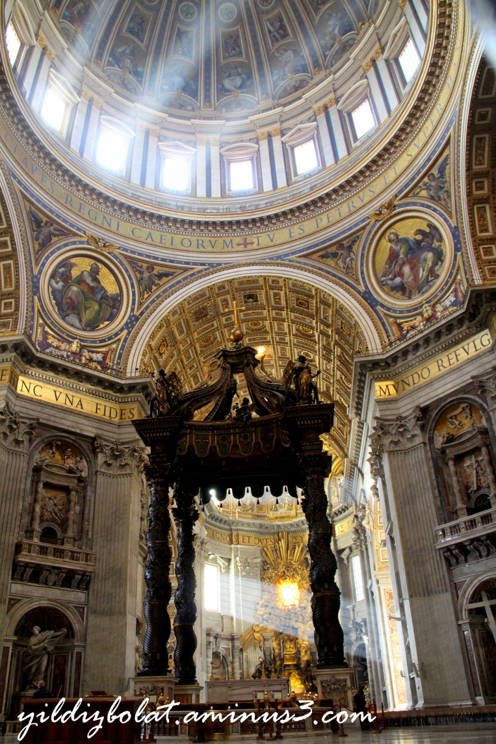 Bernini's Baldacchino... take 2