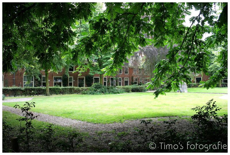 Hofje in Haarlem