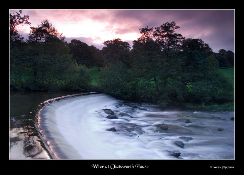 Wier at Chatsworth.