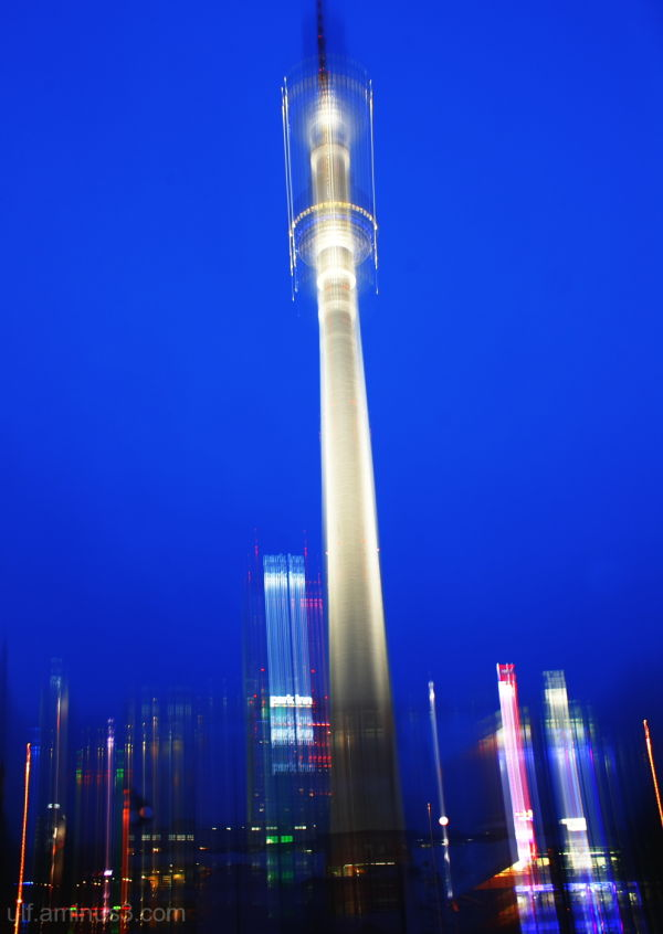 Television Tower at Berlin Alexanderplatz