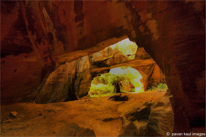 Naida caves in Diu