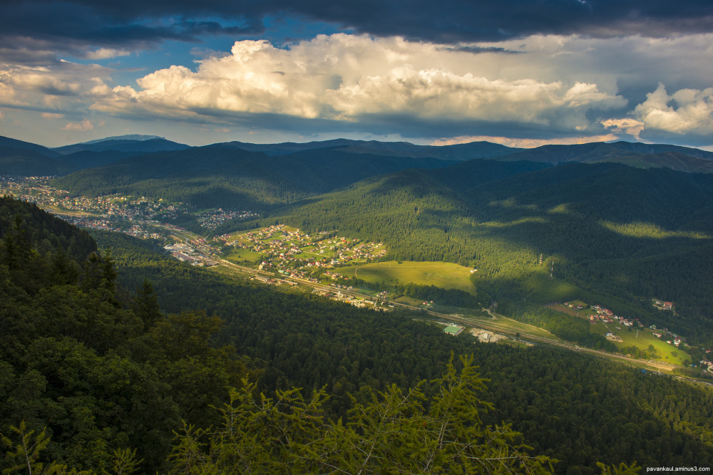 A view from the top in Romania