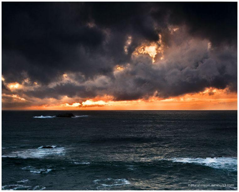 garrapata sunset